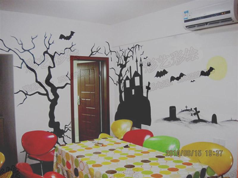苏州喷画,苏州墙体彩绘,苏州墙绘