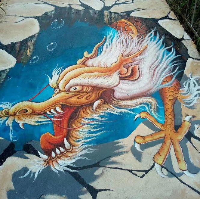 苏州3d彩绘公司