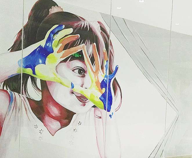 苏州展览彩绘
